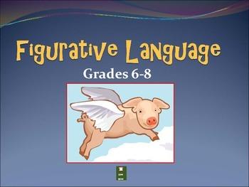 Figurative Language for grades 4-8