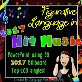Figurative Language in 2017 Hit Music PowerPoint