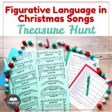 Figurative Language in Christmas Songs Treasure Hunt