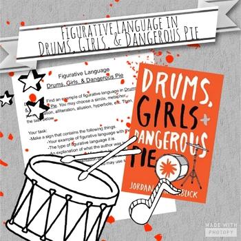 Figurative Language in Drums, Girls, & Dangerous Pie