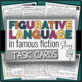 Figurative Language in Famous Fiction TASK CARDS