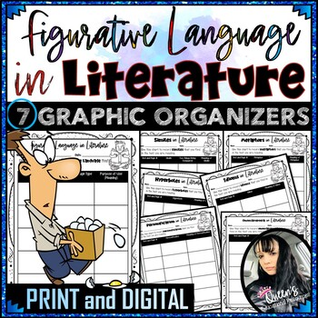 Figurative Language in Literature Graphic Organizers