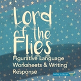 Figurative Language in Lord of the Flies: Worksheets and W