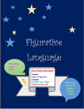 Figurative Language in Poetry- An Analysis of Common Figurative Language