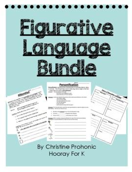 Figurative Language in Poetry Bundle