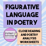 Figurative Language in Poetry: Close Reading and Poetry An