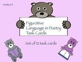 Figurative Language in Poetry Task Cards