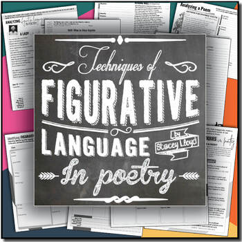 Figurative Language in Poetry {Worksheets}