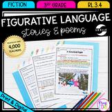 Figurative Language - 3rd Grade RL.3.4 - Printable & Digit