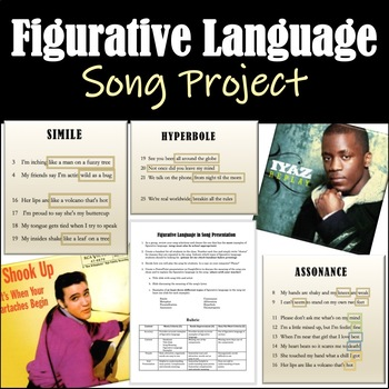 Figurative Language in Song: Lesson and Group Project