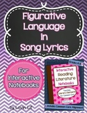Figurative Language in Song Lyrics for Interactive Notebooks (Excerpt)