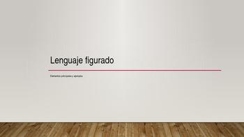 Figurative Language in Spanish