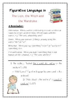 Figurative Language in The Lion, the Witch & the Wardrobe