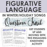 Figurative Language in Winter/Holiday Songs Question Trail