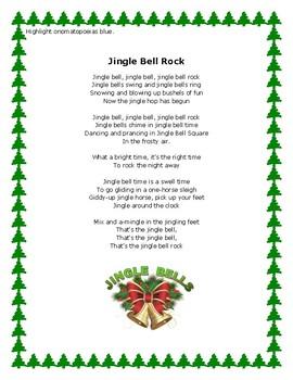 Figurative Language in Winter Songs