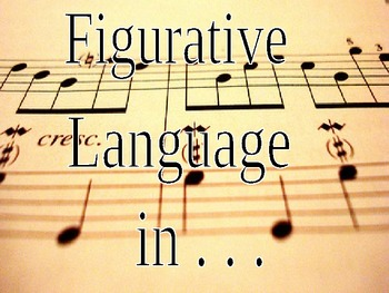 Figurative Language in music lyrics