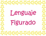 Figurative Language in spanish posters / Lenguaje Figurado