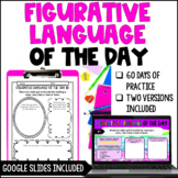 Figurative Language Review Activities *with Google Slides™