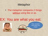 Figurative Language ppt and assessment activity