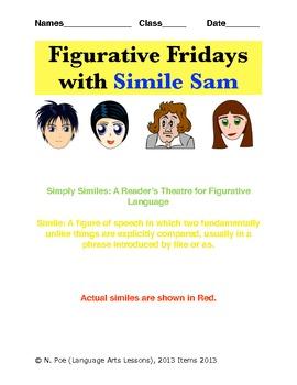 Figurative Language through Reader's Theatre - Similes