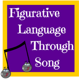 Figurative Language through Song Worksheets