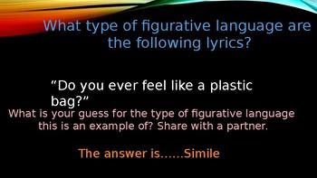 Figurative Language using Katy Perry Firework
