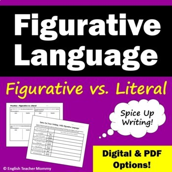 Figurative Language vs. Literal