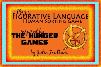 Figurative Language Interactive Review Game {Hunger Games Version} - Task Cards