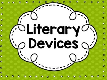 10 Figurative Language Literary Devices Posters