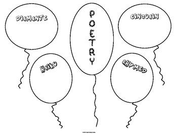 Figurative Language/Poetry/Vocabulary Posters