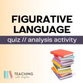 Figurative Language/Sound Devices Test