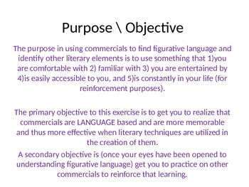 Figurative Languge online research assignment