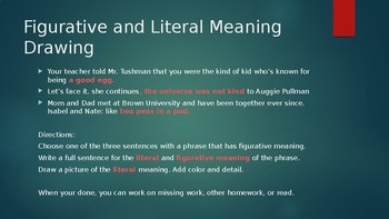 Figurative Meaning Slides