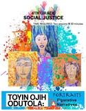 Figurative]Narrative Self Portrait, Toyin Ojih Odutola & her Art, Social Justice