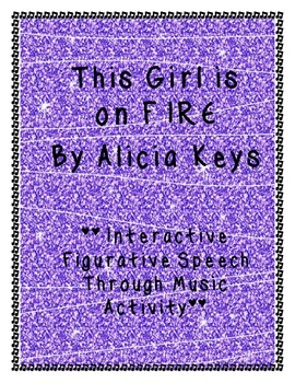 Figurative Speech Through Music: Girl on Fire by Alicia Keys
