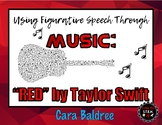 Figurative Speech Through Music: Red by Taylor Swift