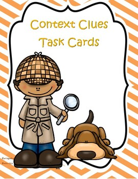 Figurative and Connotative (Context Clues) Task Cards