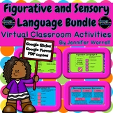 Figurative and Sensory Language Digital Activities Bundle