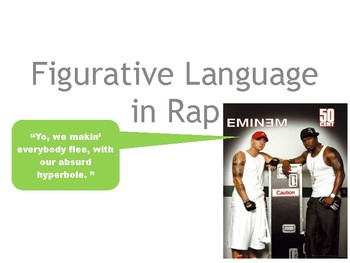 Figurative language in rap music