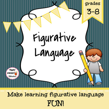 Figurative Language Game (Common Core Aligned)