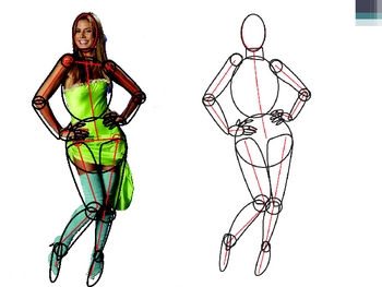 Figure Drawing PowerPoint - Lessons 4 and 5 Bulking and Foreshortening