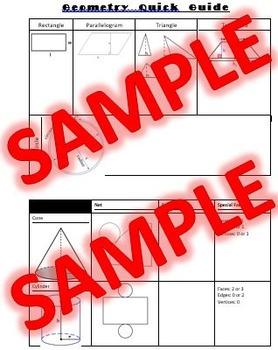 Figure Guide - Geometry