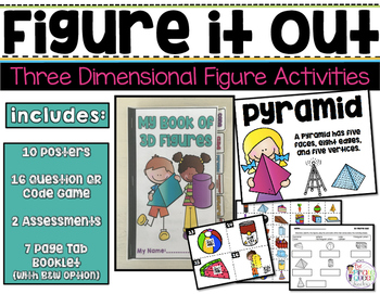 Figure It Out: Three Dimensional Figure Activities & Games