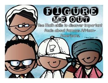 Figure Me Out Black History Pack {NO PREP MATH}