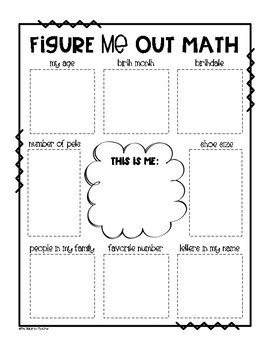 Image result for images figure me out math template