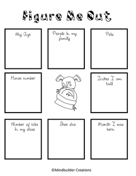 Figure Me Out Math Printable Activity Make An Equation By