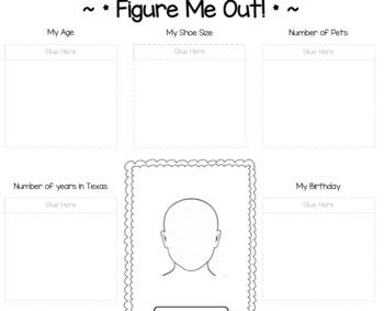 Figure Me Out! Math Project!!!! NO PREP!