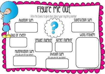 Figure Me Out Maths Printables - FREEBIE