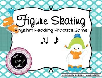 Figure Skating - Rhythm Reading Practice Game {syncopa}