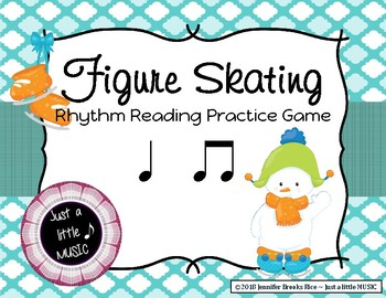 Figure Skating - Rhythm Reading Practice Game {ta titi}